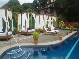 Hotel Desire Costa Rica Upper Nude Swimming Pool West Side